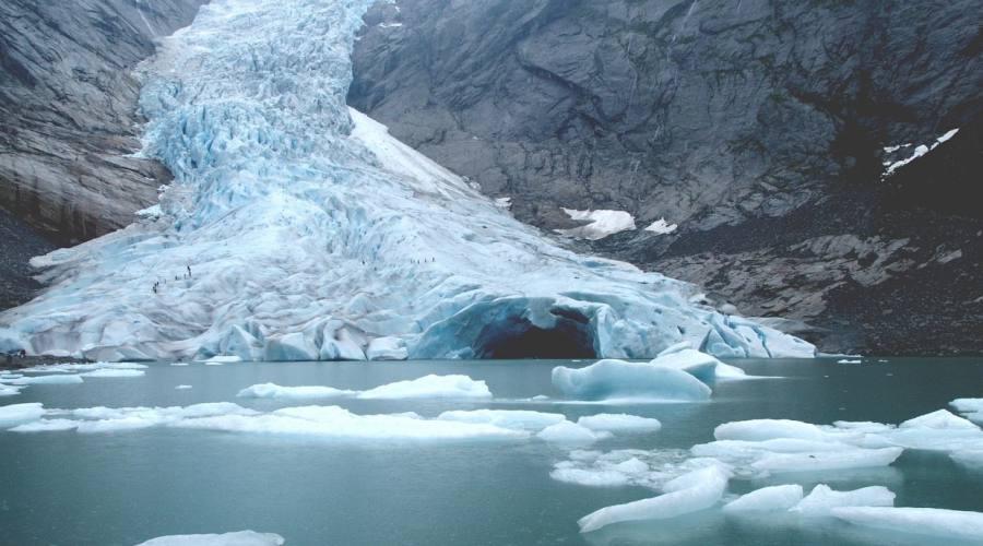 Briksdal - ghiacciaio