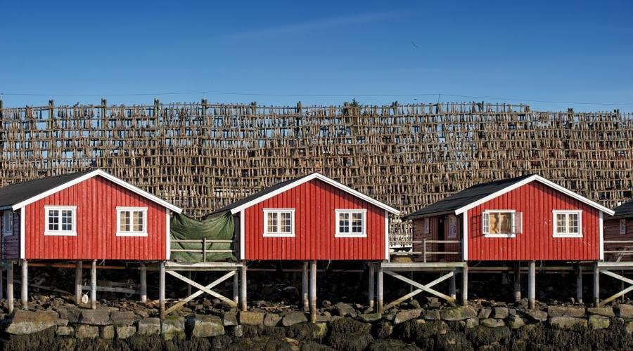 Lofoten case dei pescatori