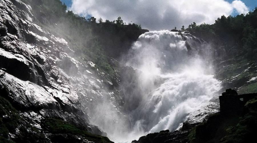 Cascata verso Myrdal