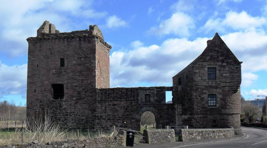 Milnathort Kinross Perthshire Castello Burleigh