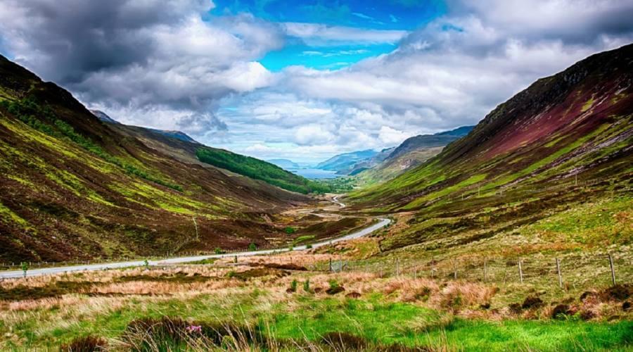 Paesaggio scozzese