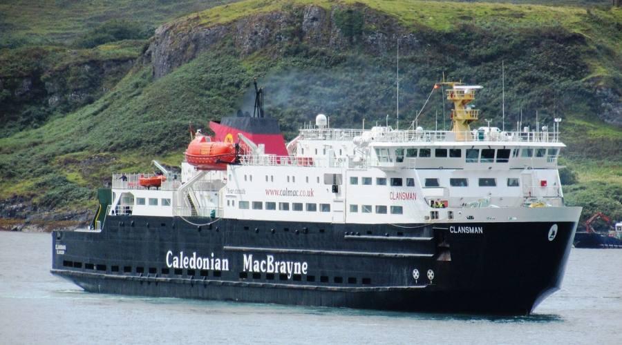 Traghetto sul cananle di Caledonian