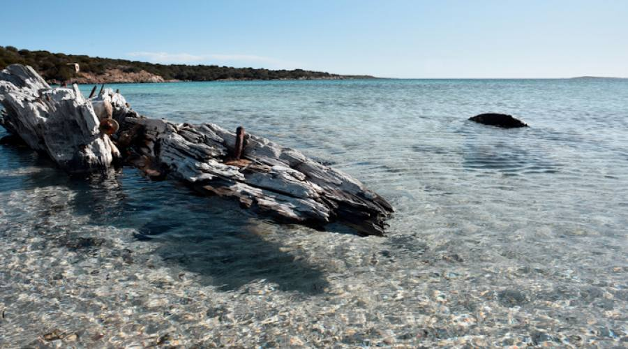 Spiaggia del relitto Palau