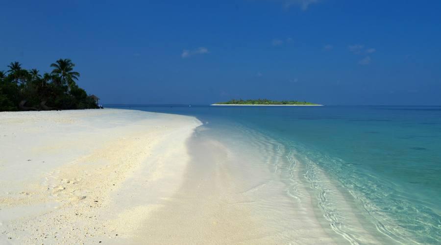Distese di sabbia bianca