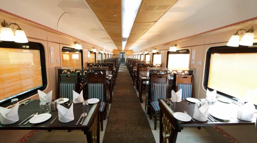 sala pranzo treno