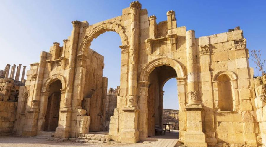 Jerash, South Gate