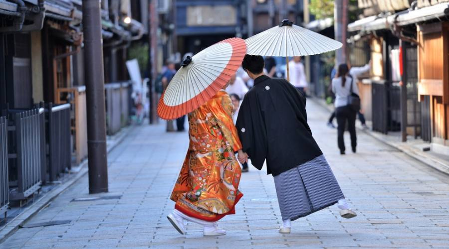 A zonzo per le strade di Kyoto
