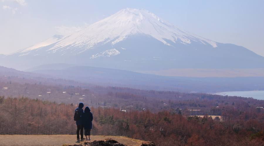 Il Monte Fuji e' impressionante!