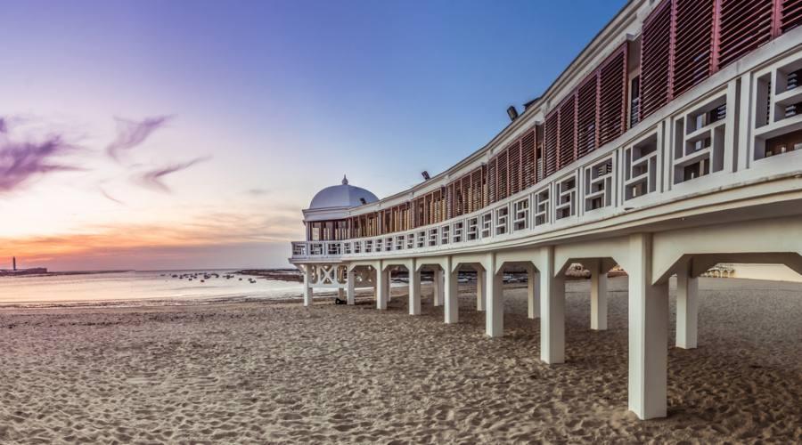 Tramonto in spiaggia - Cadiz