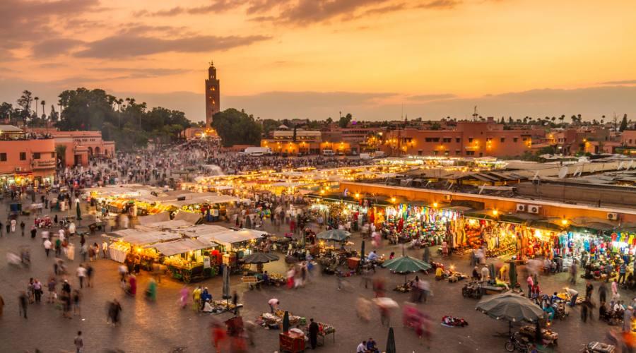 Jamaa el Fna - Marrakesh