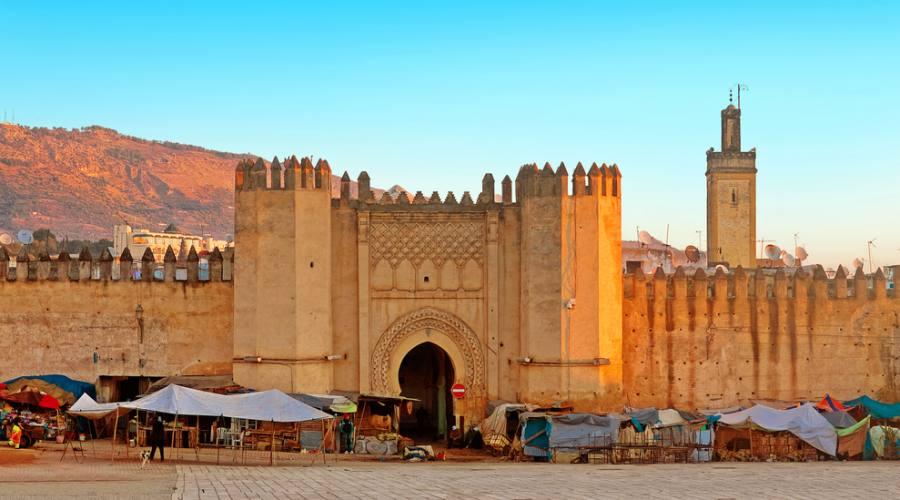 Porta antica della medina - Fes