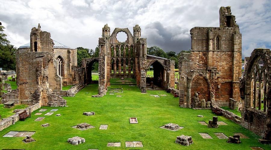 Elgin - La cattedrale