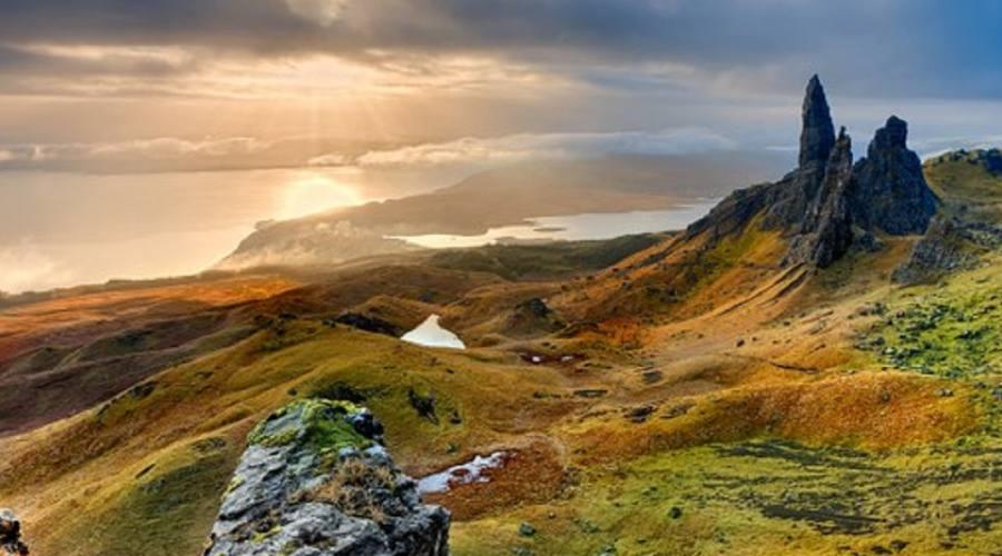 Isola d Skye panorama