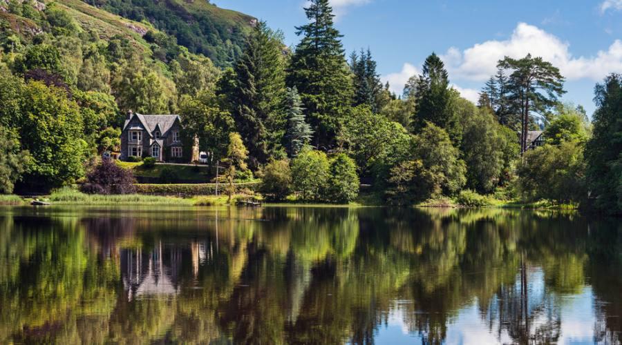 Casa ittoriana nel Parco dei Trossach
