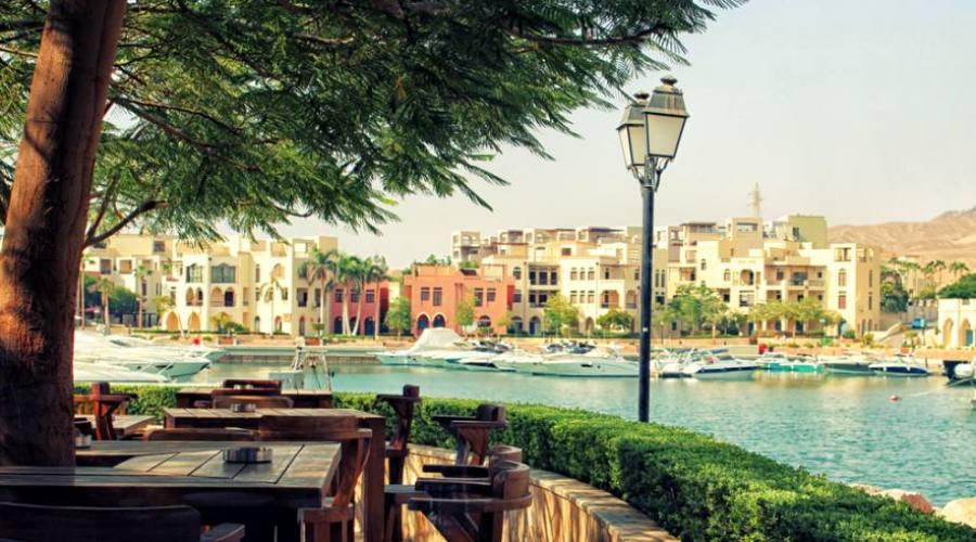 Aqaba, la Marina