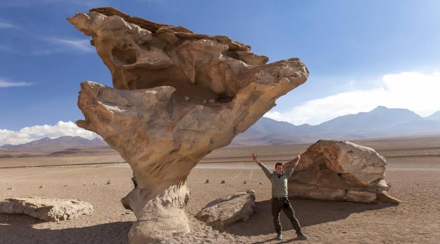 L'albero di pietra, Bolivia