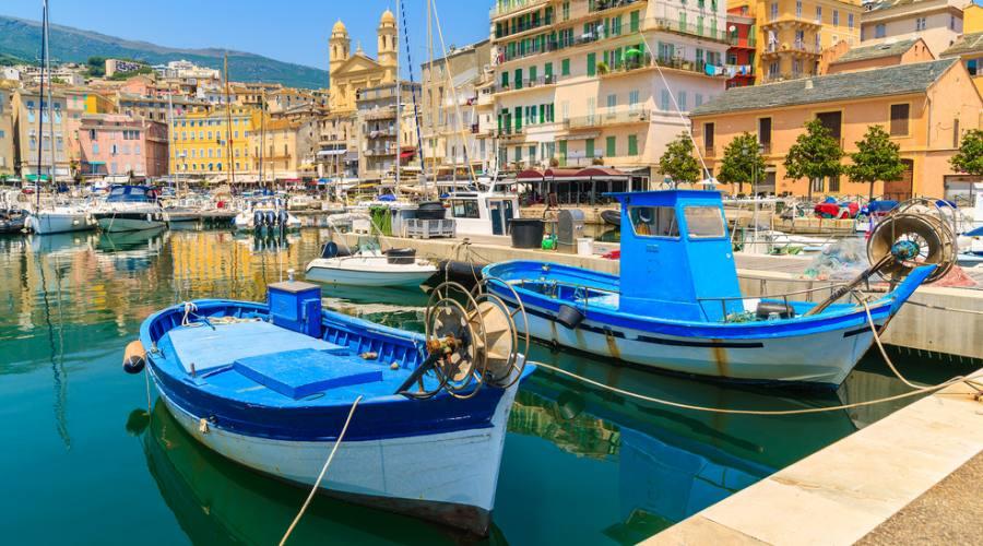 Barche tradizionali, Bastia, Corsica