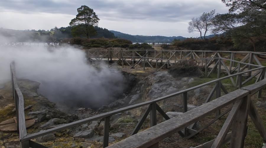 Azzorre, Sao Miguel - Fumarole Furnas