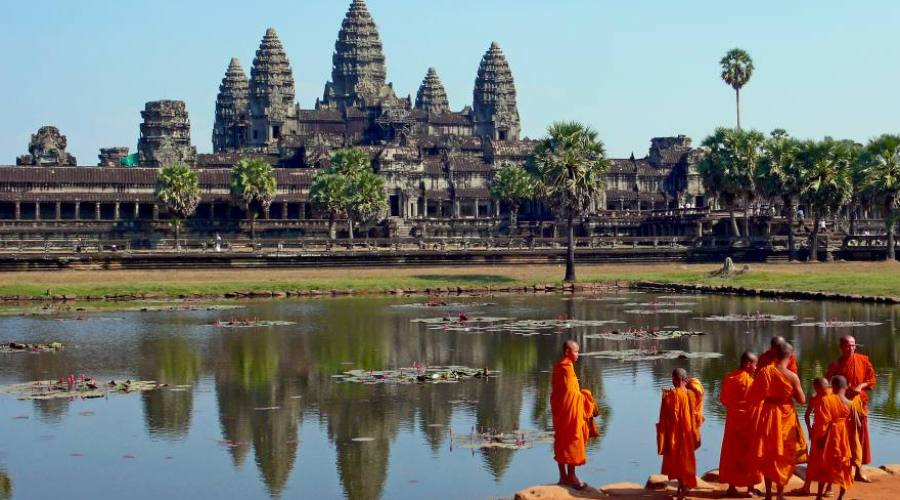 Angkor wat prospettiva