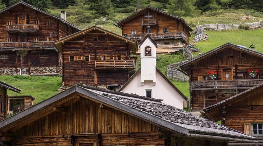 Tipiche abitazioni