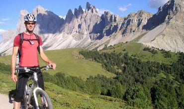 In bici dall'Alto Adige al Lago di Garda