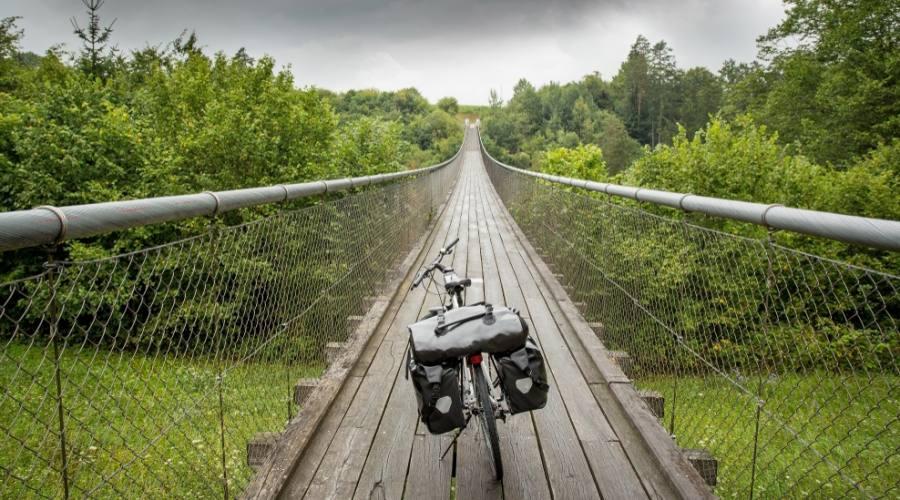 Bici sul ponte