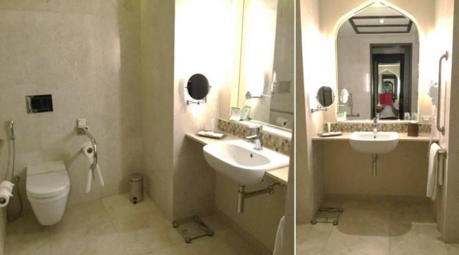Bagno camera accessibile