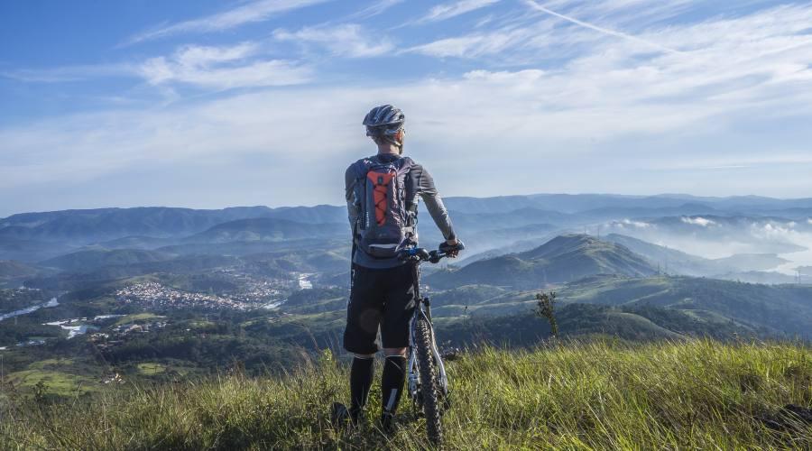 Panorama in bici
