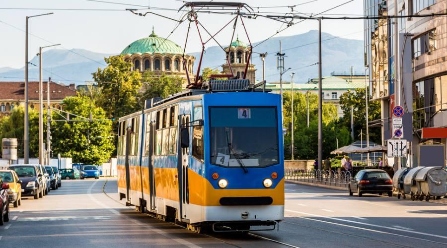 Sofia , il vecchio tram