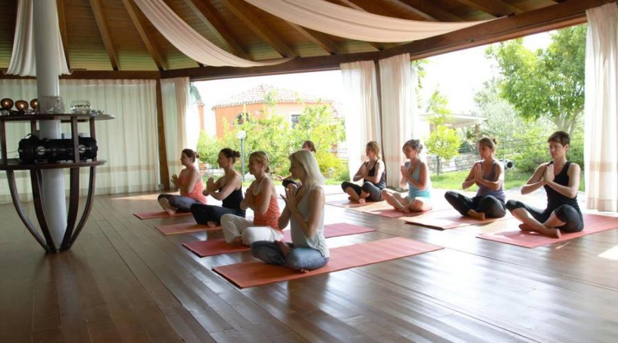 sessione yoga