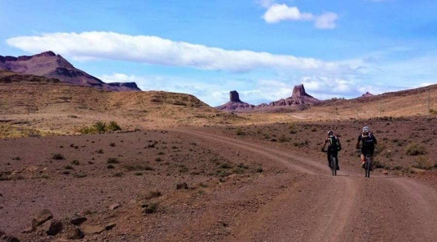 Il bici sulle piste del Marocco