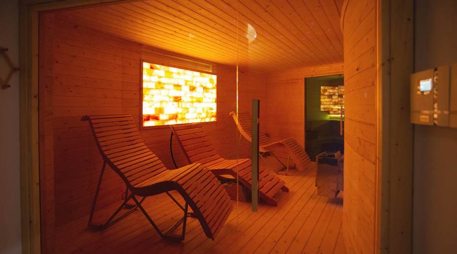 relax dopo la sauna