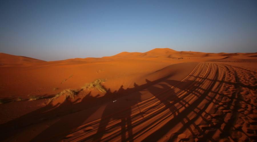 Il Sahara a Merzouga