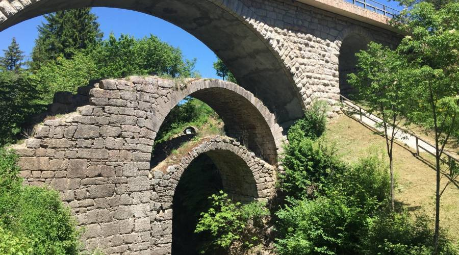 Ponte dei tre archi Cavedago