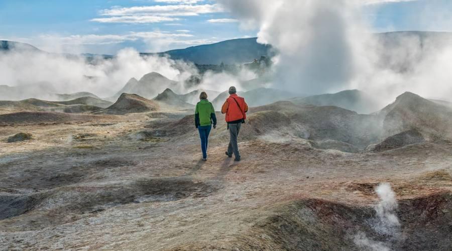 Bolivia, Geyser Sol del la Mañana