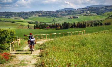 In E-Bike lungo la Via Francigena