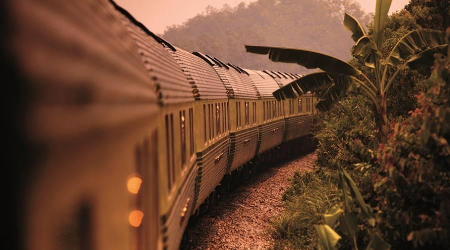 Viaggio con il treno Eastern & Oriental Express