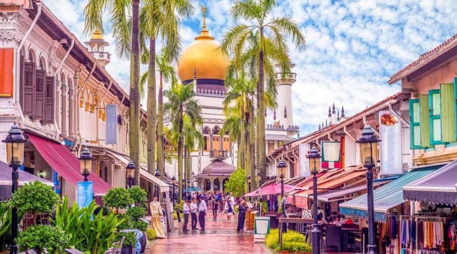 Moschea del Sultano (Masjid Sultan) Singapore