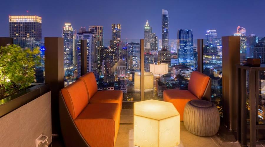 Vista da uno Sky Bar a Bangkok