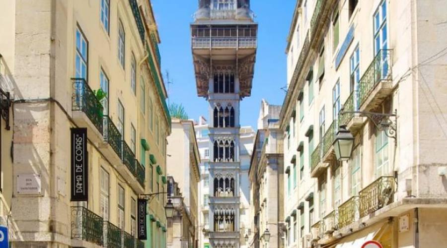 Lisbona, Elevador de Santa Justa