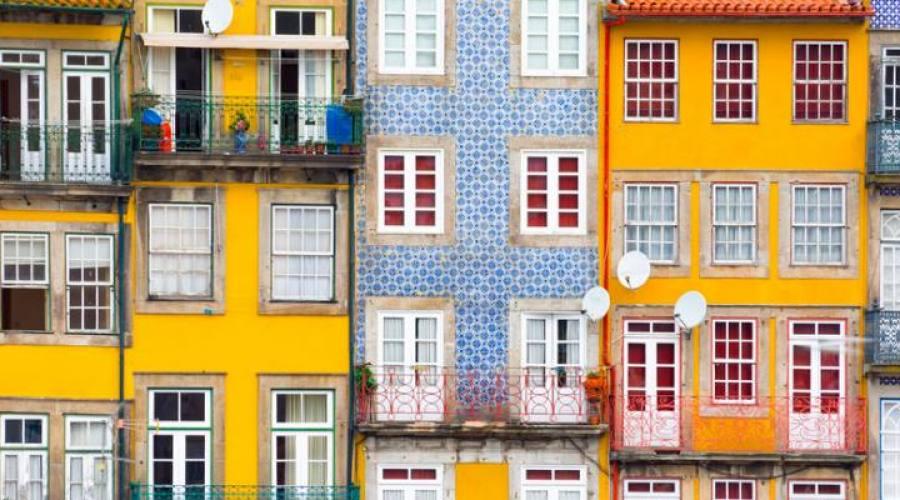Porto, case da Ribeira