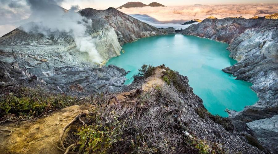 lago sulfureo