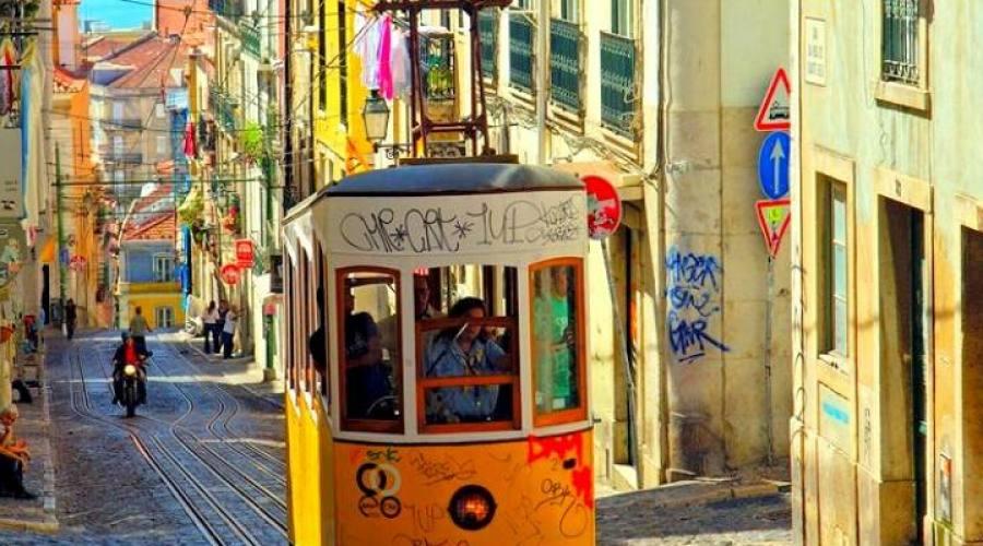Lisbona, i suoi tram