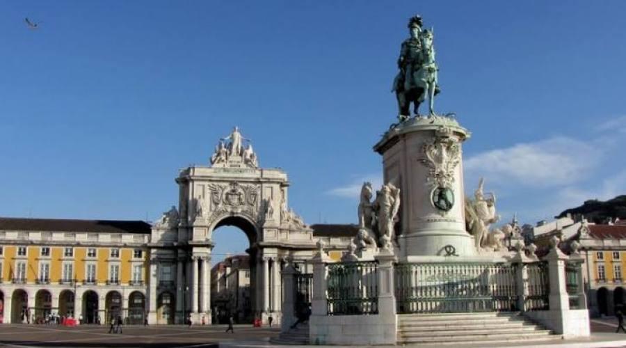 Lisbona, Piazza del Commercio