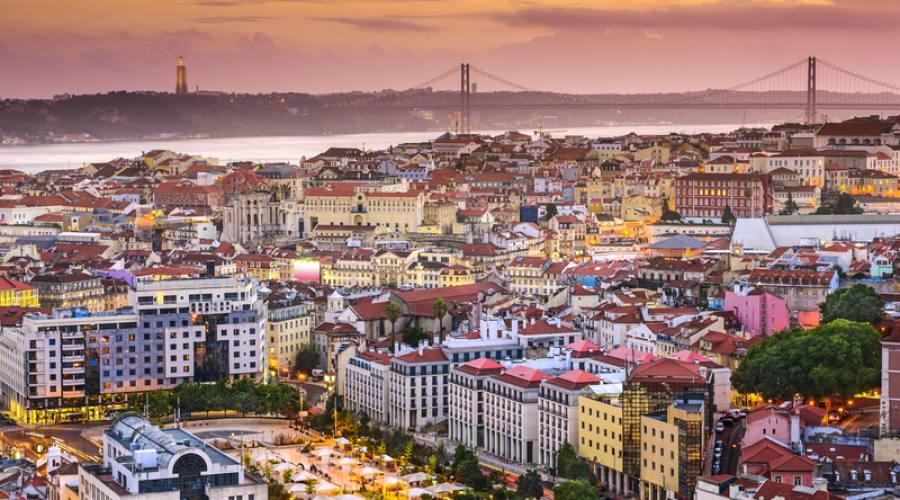 Skyline di Lisbona