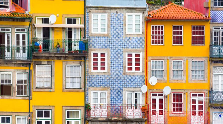 Riberia, centro storico di Porto