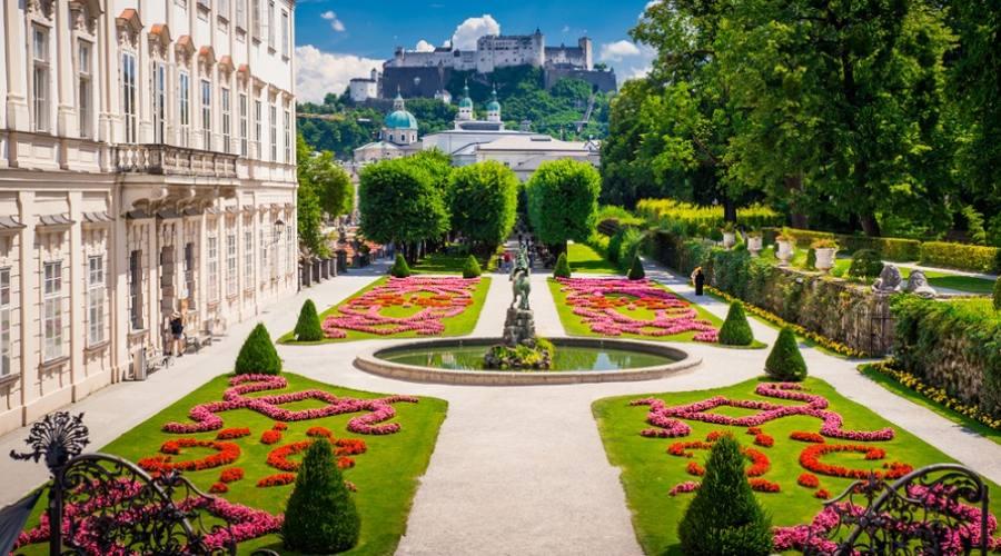 Il castello di Mirabell - Salisburgo