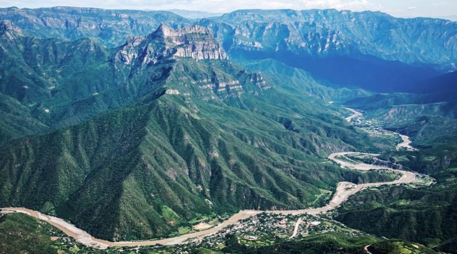 Vista panoramica Chihyahua