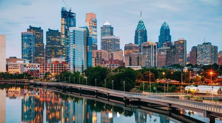 Fiume Schuylkill - Philadelphia