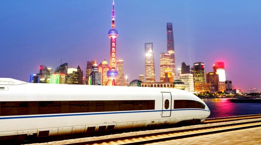 Treno alta velocità - Shanghai